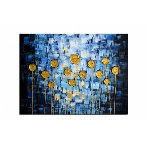 Tableaux abstrait peintures tableaux toile