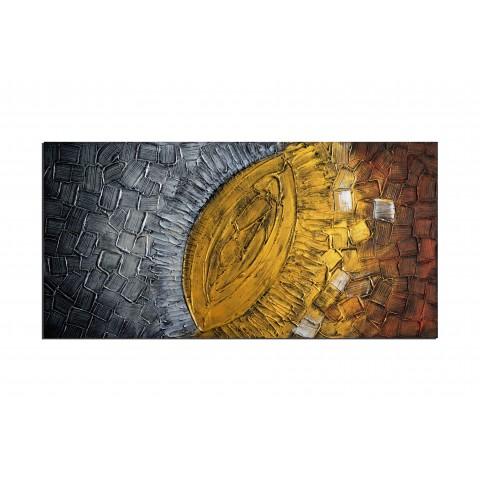 L'Oeil de cléopatre - tableau peint-main peinture à l'huile