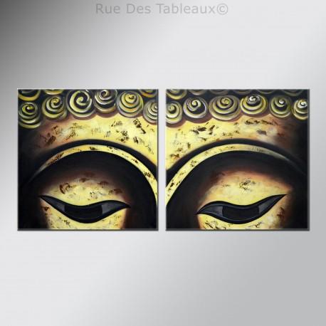 Tableaux abstrait tableau abstrait gris triptique - Tableau en bois enfant ...