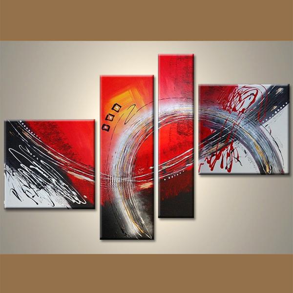 Tableaux Abstraits Peinture Achat Tableaux Deco Moderne Ruedestableaux